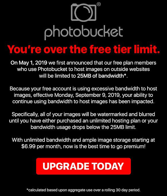 Photobucket Information Xf2 Addons